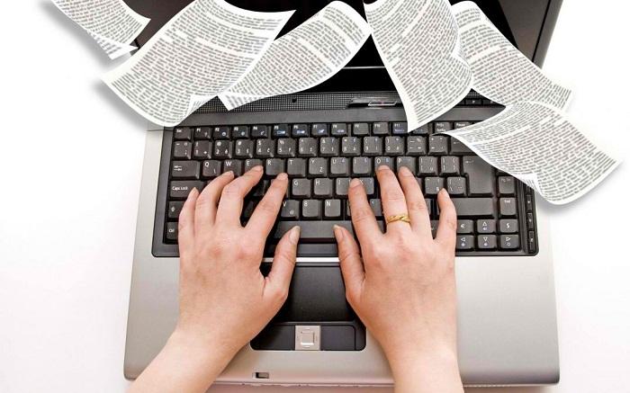 Ứng tuyển vào nghề cộng tác viên viết bài