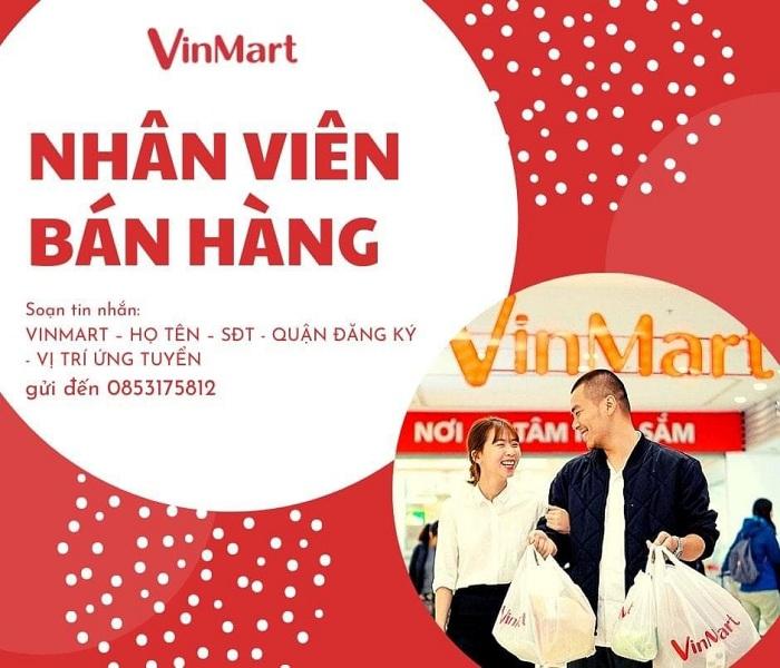 lương nhân viên bán hàng VinMart có cao không